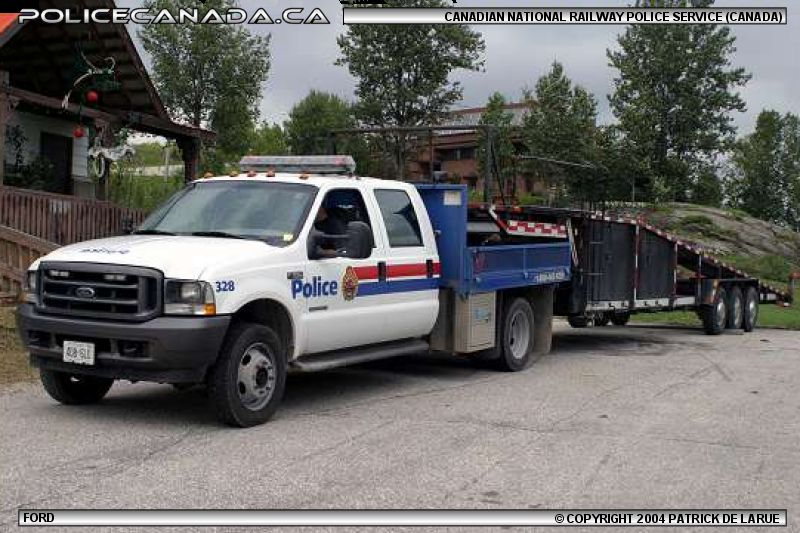 CANADIAN NATIONAL RAILWAY POLICE - POLICE DU CANADIEN NATIONAL