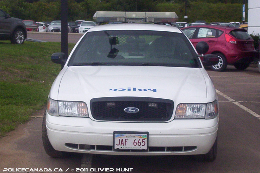 Police canada canadian national rr