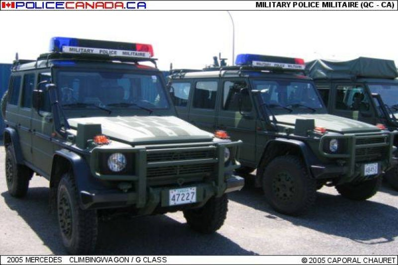 how to become military police in canada