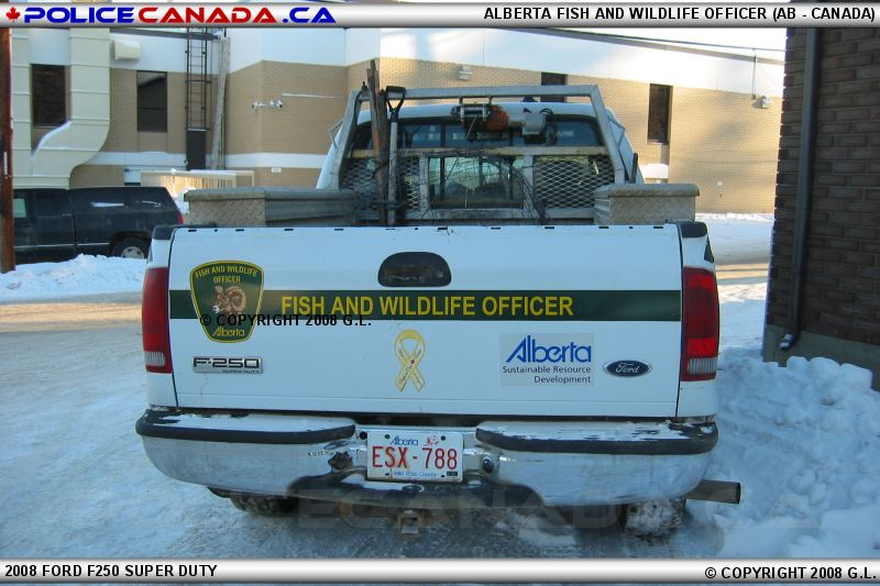 Police canada alberta for California fish and wildlife