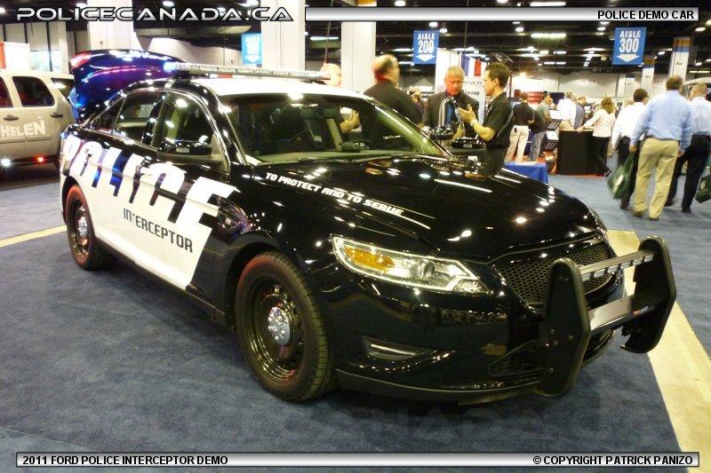 Police Canada Police Demo Cars