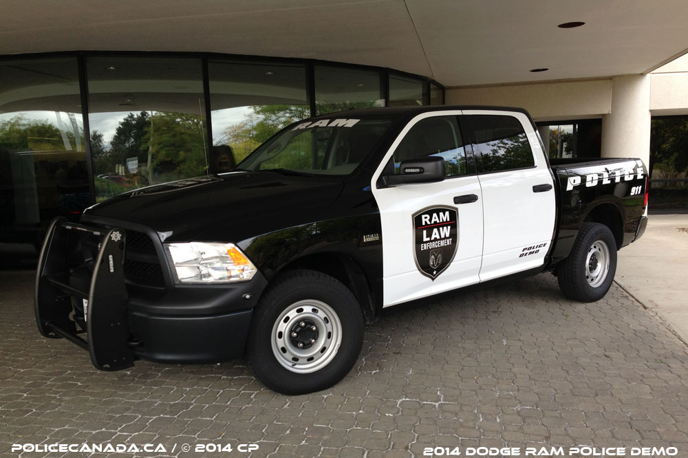 Police canada police demo cars for Is dodge general motors