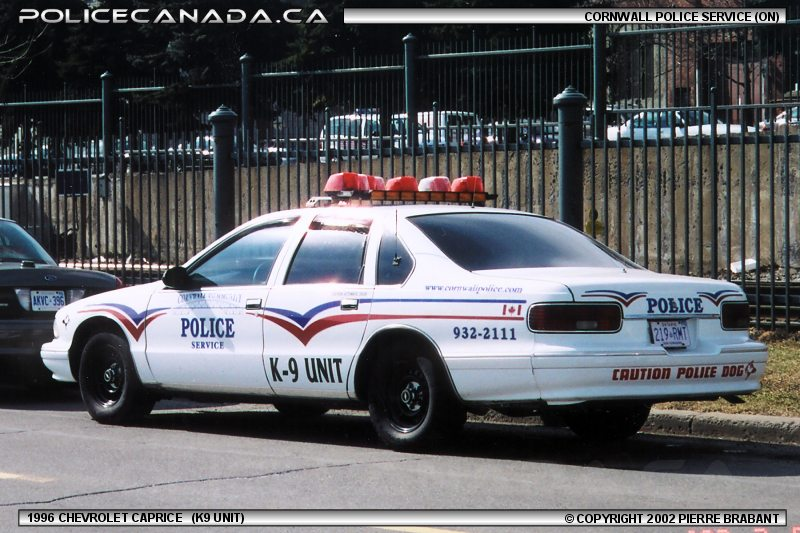 Cornwall (ON) Canada  City new picture : CORNWALL POLICE SERVICE ON