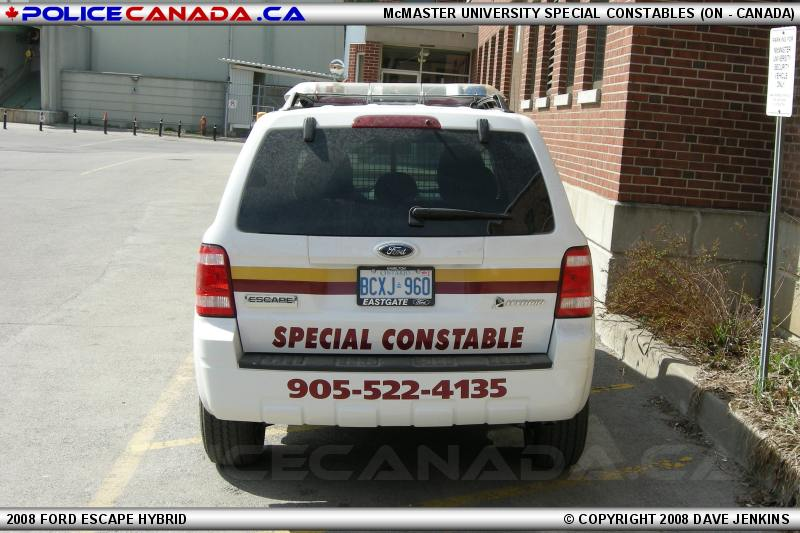 how to become a special constable in ontario