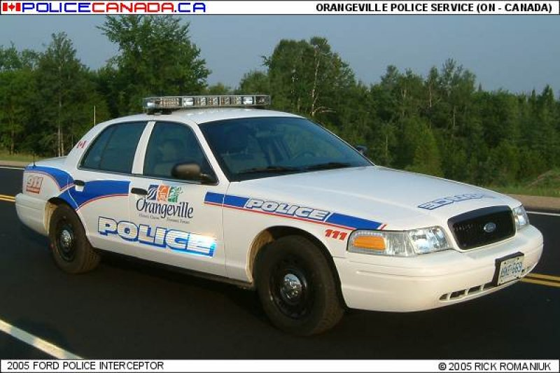 Orangeville (ON) Canada  city photos gallery : ORANGEVILLEPOLICE SERVICE ON