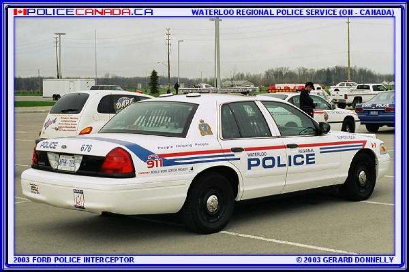 Waterloo >> POLICE CANADA - ONTARIO
