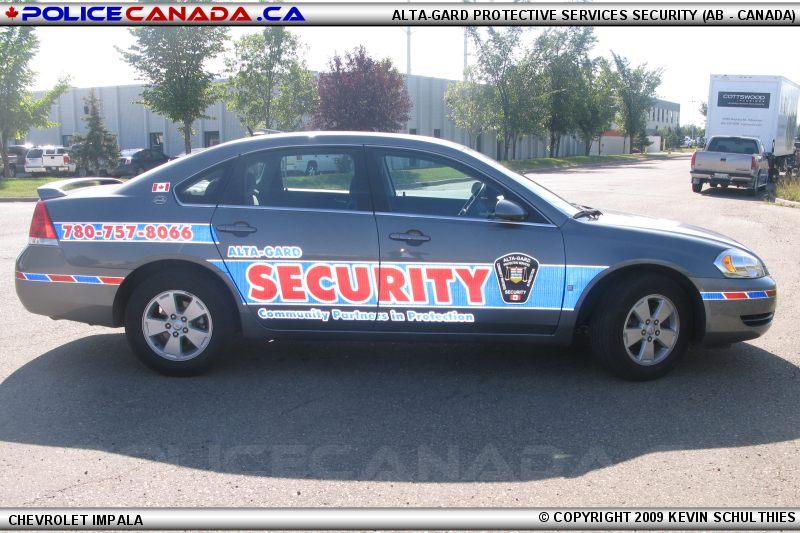 Police Canada Private Security Agencies