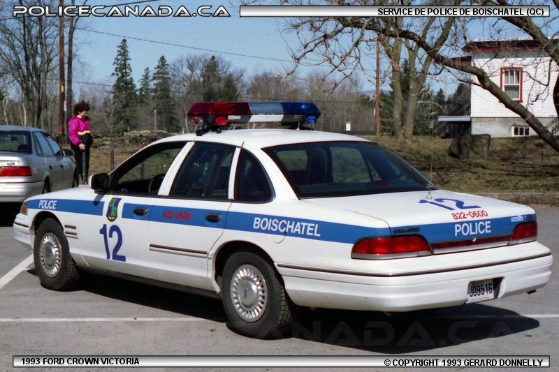 Boischatel (QC) Canada  city photos gallery : SERVICE DE POLICE DE BOISCHATEL QC