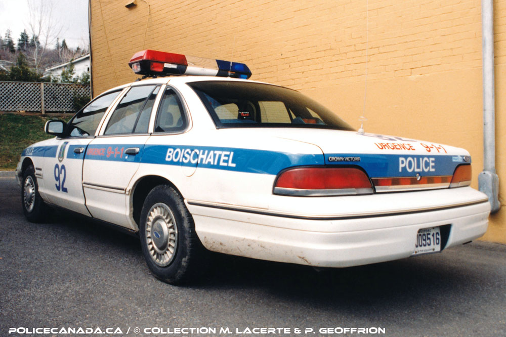 Boischatel (QC) Canada  city photo : SERVICE DE POLICE DE BOISCHATEL QC