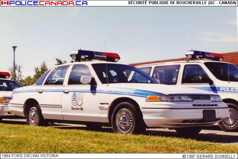 Boucherville (QC) Canada  city pictures gallery : Fusionné avec le Service de police de Longueuil, le 1er janvier 2002 ...