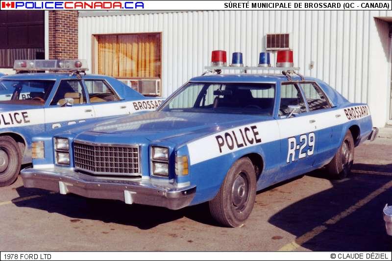 Brossard (QC) Canada  city images : Fusionnéavec le Service de police de Longueuil, le 1er janvier 2002 ...