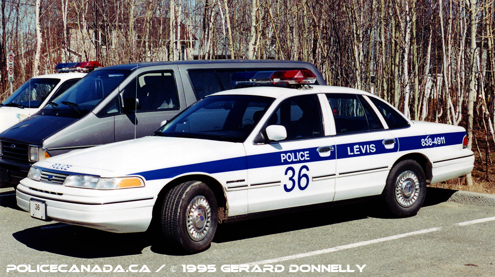 Levis (QC) Canada  city photos gallery : Mergedwith Lévis Police Service on January 1st, 2002 Fusionné ...