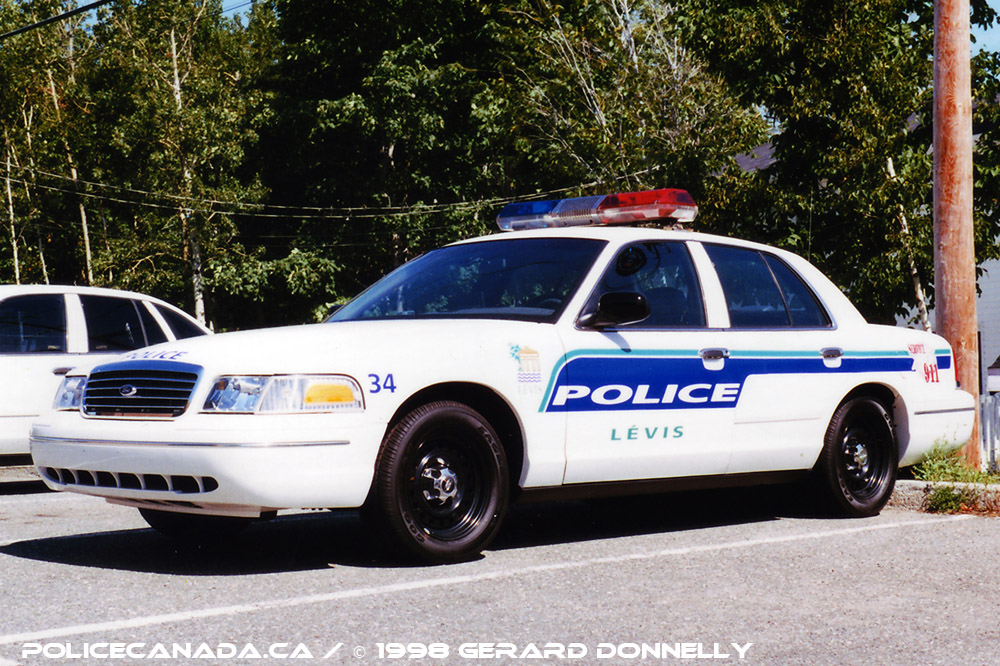 Levis (QC) Canada  city photo : Mergedwith Lévis Police Service on January 1st, 2002 Fusionné ...