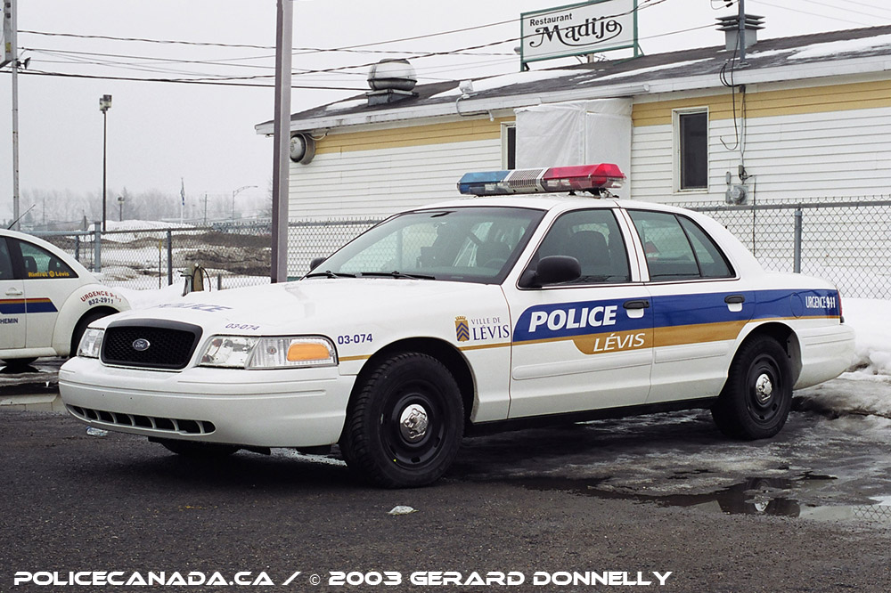 Levis (QC) Canada  city photos : Mergedwith Lévis Police Service on January 1st, 2002 Fusionné ...