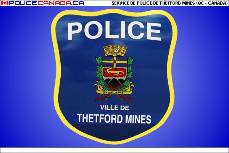 Thetford Mines (QC) Canada  city photo : SERVICE DE POLICE DE THETFORD MINES QC