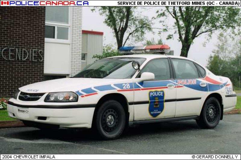 Thetford Mines (QC) Canada  city photos : SERVICE DE POLICE DE THETFORD MINES QC
