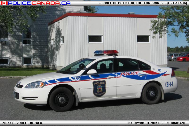 Thetford Mines (QC) Canada  city pictures gallery : SERVICE DE POLICE DE THETFORD MINES QC