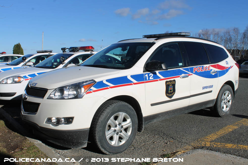 Thetford Mines (QC) Canada  city images : SERVICE DE POLICE DE THETFORD MINES QC